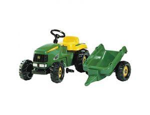 Traktor na pedala John Deere s prikolico
