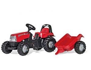 Traktor na pedala Case s prikolico
