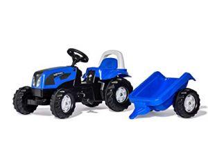 Traktor na pedala Landini Powerfarm s prikolico